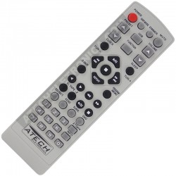 Controle Remoto Aparelho de Som LG 6710CMAT01A / 6710CMAT01C / LM-U1350 / LMS-U1350 / LM-U1050 / LMS-U1050 / LM-W550