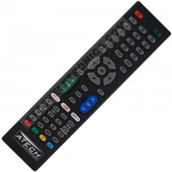 Controle Remoto Universal TV LCD / LED / Smart TV com Netflix e Youtube
