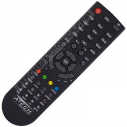 Controle Remoto Receptor Visiontec VT4300 Box Anadig HD