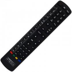Controle Remoto TV LED Philco PH24N91D / PH28N91D / PH28N91DSGWA / PH40F10DSGWA / PH42F10DSGWA / PH49F30DSGWA (Smart TV)