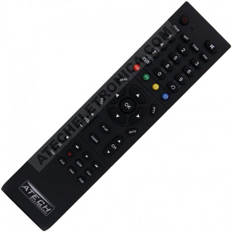 Controle Remoto Receptor Eurosat by Miracle