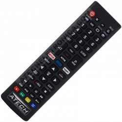 Controle Remoto Universal TV LCD / LED LG com Netflix e Amazon (Smart TV)