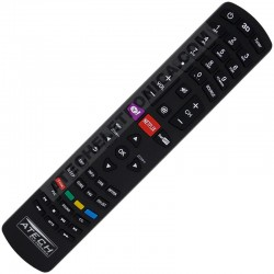 Controle Remoto TV LED Philco RC3100L02 com Netflix e Yahoo! (Smart TV)
