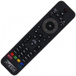 Controle Remoto Home Theater Philips HTB3524 / HTS3541 / HTS3564 com Vudu e Netflix
