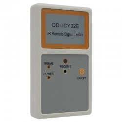 Testador de Controle Remoto com Bip QD-JCY02E (IR Remote Signal Tester)