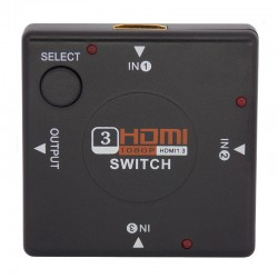 Mini Chaveador HDMI (Switch) 3 Entradas