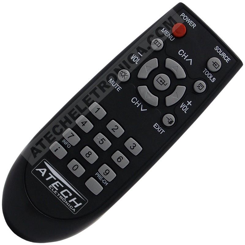 Controle Remoto TV Semp Toshiba - Todos os Modelos TV de Tubo