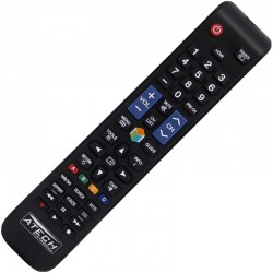 Controle Remoto TV LCD / LED Samsung AA59-00588A (Smart TV)