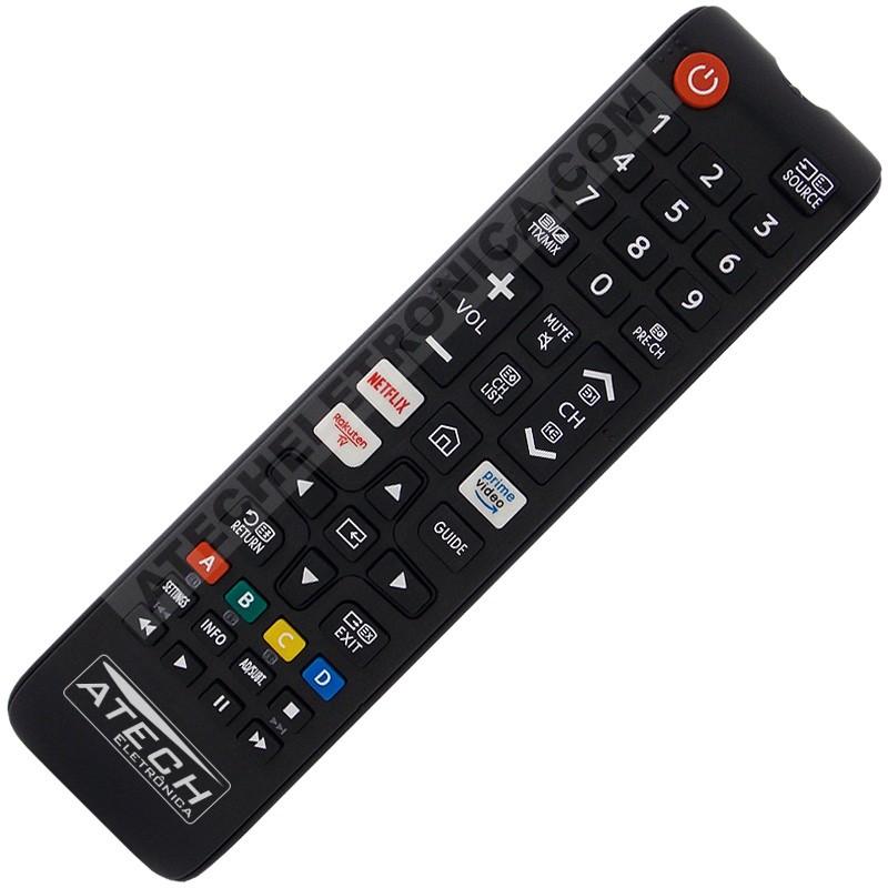 Controle Remoto TV LCD / LED Samsung BN59-00888A / BN59-00869A