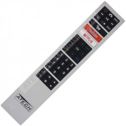Controle Remoto TV LED AOC RC4183901 / 32S5295 / 43S5295 / 50U6295 / 55U6295 com Netflix / Youtube / Netrange (Smart TV)