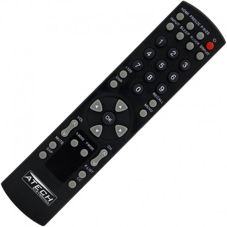 Controle Remoto TV LCD H-Buster HBTV-3201HD / HBTV-4201HD