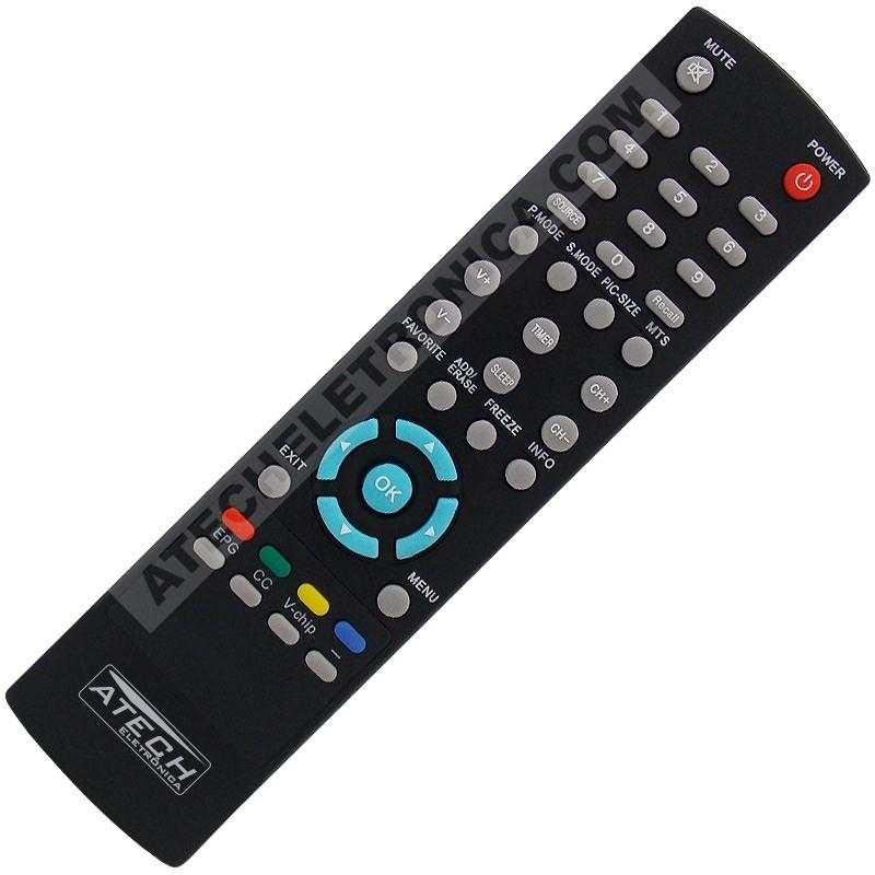 Controle Remoto Conversor Digital Proview XPS-1000 / XPS-1000i