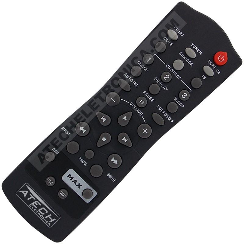 Controle Remoto TV LED Toshiba CT-6780 com Youtube