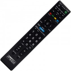 Controle Remoto TV LCD / LED Sony Bravia RM-YD081 / KDL-22EX355 / KDL-22EX357 / KDL-32BX353 / KDL-32BX354 / KDL-32BX355