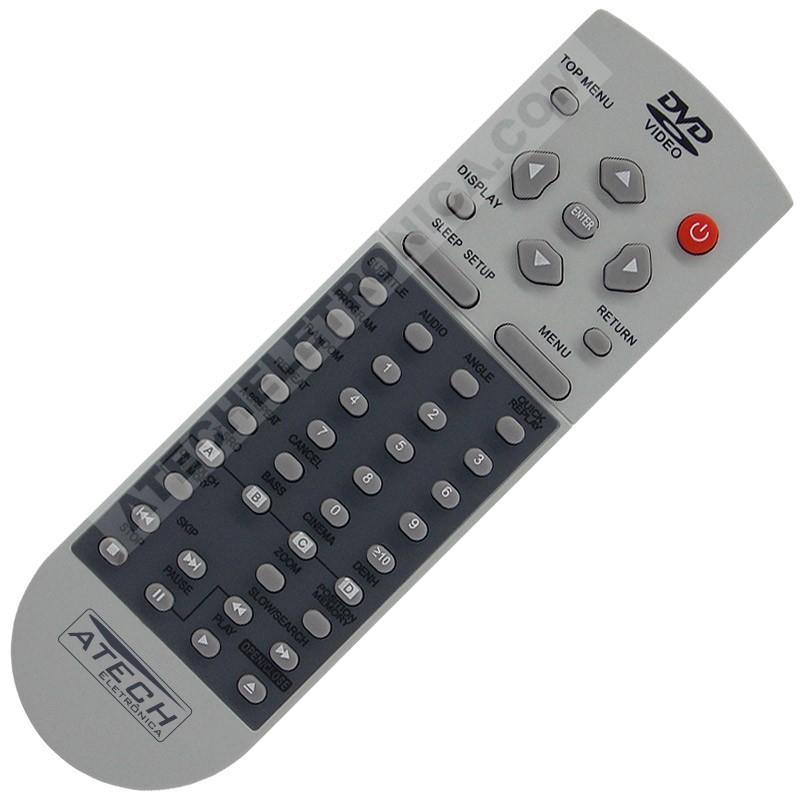 Controle Remoto TV LCD / LED STI (SEMP Toshiba) CT-6390 / LE1958W / LE2458F