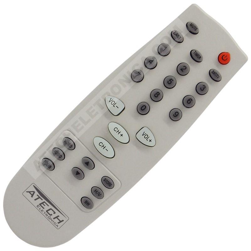 Controle Remoto Universal TV LED e LCD - Mais de 100 Marcas Nacional e Importada