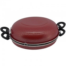 Churrasqueira Grill para Fogão Koup - Vermelho (Churrasqueira a Bafo)